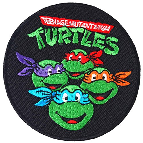 Teenage Mutant Ninja Turtles Embroidered Iron on Patch #O