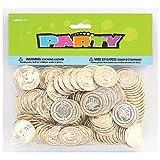 Party Bags 2 Go – Monedas doradas de tesoro pirata (paquete de 144)