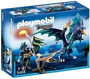 Playmobil - 5484 - Figurine - Dragon Avec Guerrier