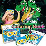 Children Coloring Books For Kids 3D IF Interactive Imagine VR Goggles Included Activity Pages for Teens Learning Coloring pages for Girls Boys Virtual Reality Color Fun The Quest of Marine Star