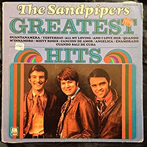 The Sandpipers The Sandpipers Greatest Hits 1970 A Amp M Sp