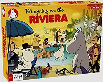 Tactic - 52907 - Jeu De Société - Moomin On The Riviera