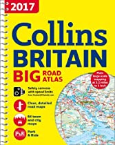 2017 Collins Big Road Atlas Britain (Collins Road Atlas)