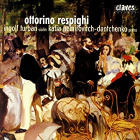 Ottorino Respighi: Original Compositions For Violin & Piano
