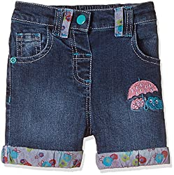 Donuts Baby Girls Shorts (267619849_Dark Blue_06M)