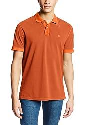 GH Bass Men's Pigment Pique Polo Shirt