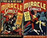 Miracle Comics. Issues 1 and 3. Dash Dixon, Blanda, Jungle Queen, Dusty Doyle, The Scorpion, K-7, Pi