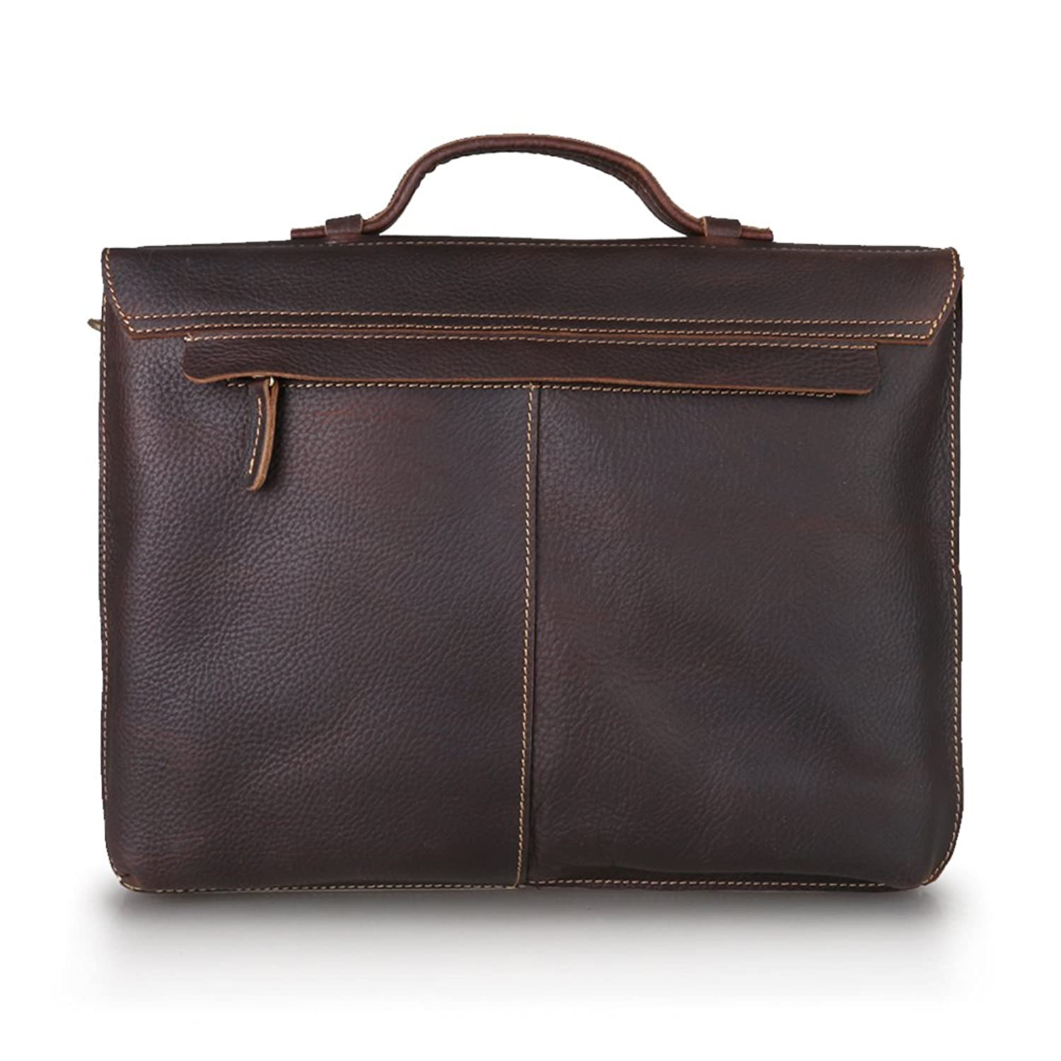 Genuine Leather Messenger Bag 2016