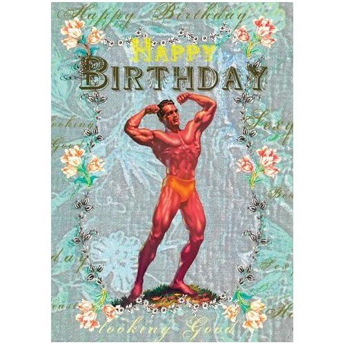 Happy Birthday Bodybuilder Greeting Card By Mimi Happy Birthday Wishes Bodybuilders