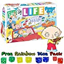 Family Guy Life Board Game w/ Free Rainbow Dice Pack