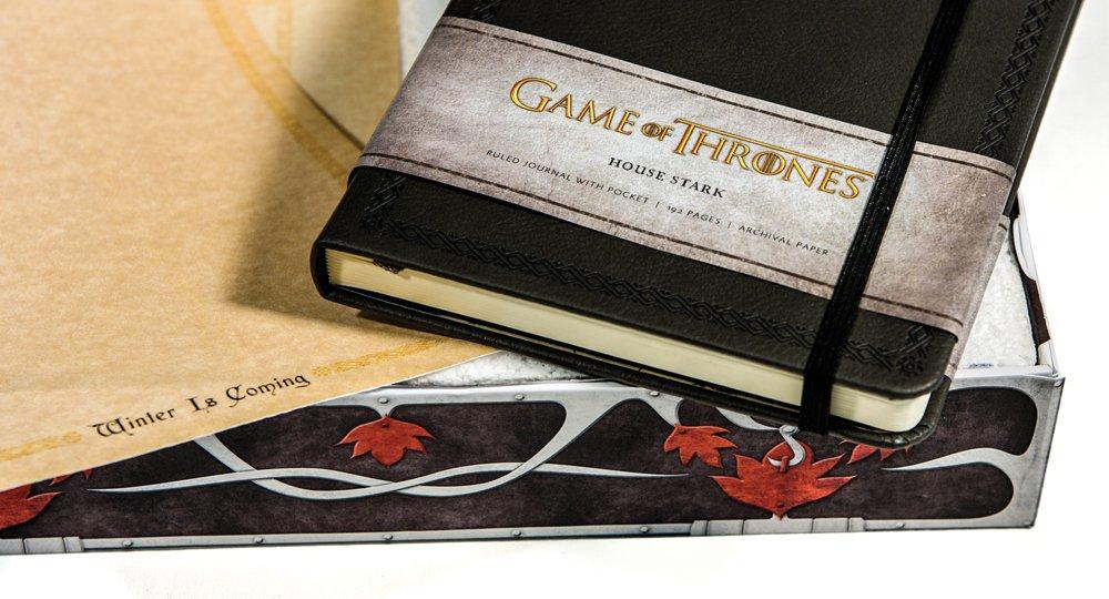 Galleon Game Of Thrones House Stark Deluxe Stationery Set Insights Deluxe Stationery Sets