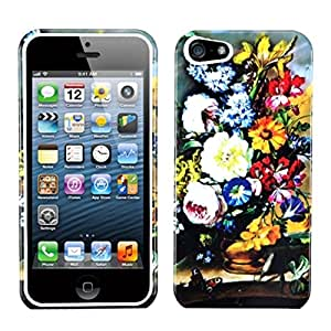 Mybat Iphone5Hpcim821Np Slim And Stylish Protective Case For Iphone 5 - 1 Pack - Retail Packaging - Blumenstilleben...
