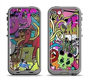 Amazon.com: The Vibrant Colored Vector Graffiti Apple iPhone 5c