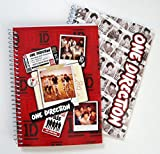 One Direction 1D Spiral Bound Notebook Journal (Pack of 2)