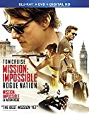 Mission: Impossible - Rogue Nation [Blu-ray + DVD + Digital HD] (Bilingual)