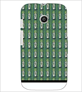 Printdhaba Bottle Pattern D-1940 Back Case Cover For Motorola Moto E