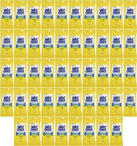 Wet Ones Antibacterial Wipes Citrus Scent Travel Pack 720Ct (48 X15Ct) front-649837
