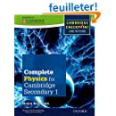 Complete Physics for Cambridge Secondary 1 Student Book: For Cambridge Checkpoint and beyond