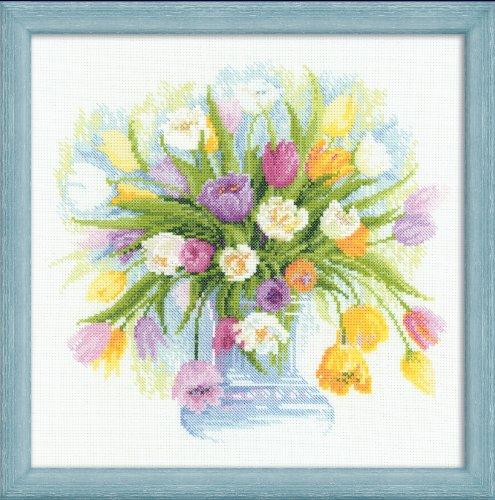 RIOLIS Watercolour Tulips,