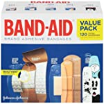 Band-Aid Variety Pack, 120 Count