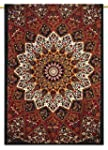 Multicolor mur indienne Hanging Tapis...