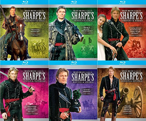 Sharpe Blu-ray Collection 6-Disc Bundle