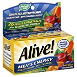 Natures Way Alive! Complete Multivitamin, Men's Energy, Tablets, 50 tablets
