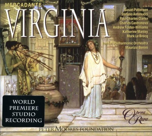 Virginia - Mercadante - CD