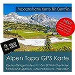 Alpen Garmin Karte TOPO 4 GB microSD....
