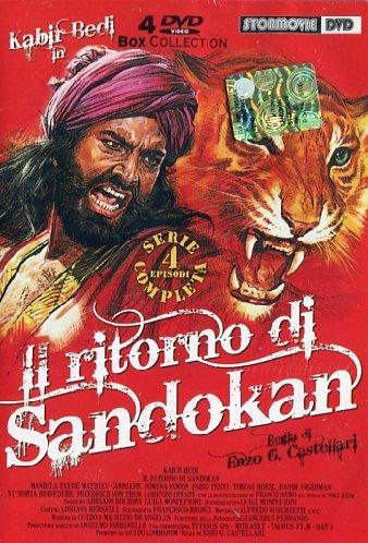 Il ritorno di Sandokan(serie completa) [4 DVDs] [IT Import]