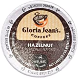 Gloria Jean's Hazelnut Coffee Keurig K-Cups, 18 Count
