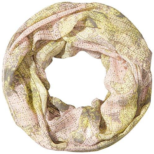 PIECES - Pcjoom Tube Scarf, Sciarpa da donna, Multicolore(mehrfarbig (pastel yellow)), taglia produttore: one si