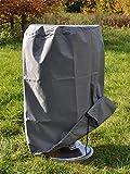 grillabdeckung-Météo Coque pour barbecue rond 50x 80cm (Ø x H) en polyester Oxford 420D 61057...