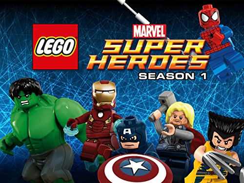 LEGO Marvel Super Heroes on Amazon Prime Video UK