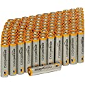 100-Pk. AmazonBasics Alkaline Batteries