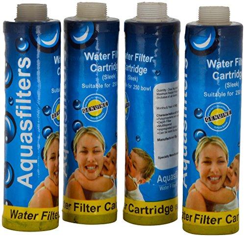 9″ Aqua filter sediment filter 4 pc set for aquaguard nova