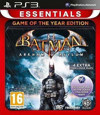 Batman Arkham Asylum - Game of the Year Essentials (PS3)
