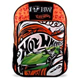 Hot Wheels School Bag [Orange/Black]