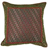 Indian Silk Pillow Cover Gift Ideas Made in Silk Fabric 30 x 30 cmby ShalinCraft
