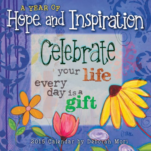 A Year of Hope and Inspiration 2015 Mini Wall Calendar (Positive Wall Calendar 2015 compare prices)