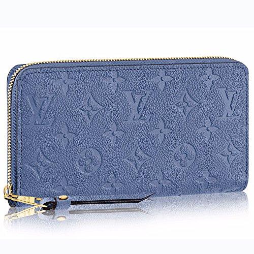 ルイヴィトン LOUIS VUITTON 財布 長財布 ラウンドファスナー ジッピー・ウォレット モノグラム・アンプラント デニムアンクル M41857