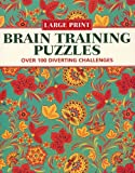 """Elegant"" Braintraining Puzzles: Over 100 Diverting Challenges (Large Print Puzzles)"