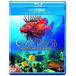 Fascination Coral Reef 3d: Hunters & The Hunted [Blu-ray]