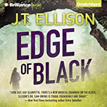 Edge of Black: Sam Owens, Book 2 (       UNABRIDGED) by J. T. Ellison Narrated by Joyce Bean
