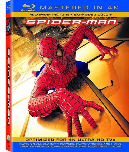 Spider-Man (Mastered In 4K) (Single-Disc Blu-Ray + Ultraviolet Digital Copy)