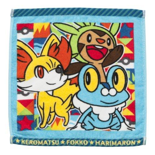 Pokemon Center Original Product Hand Towel Chespin &Fennekin &Froakie
