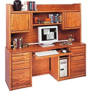 Kathy Ireland Home By Martin Furniture Wood Computer Desk With Hu