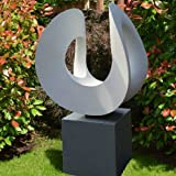 Large Garden Sculptures - Orchid Contemporary Abstract Statue