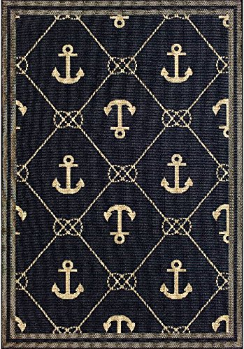 61v4NpYZXBL The Ultimate Guide to Nautical Themed Area Rugs