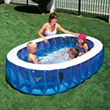 Large Splash & Play Elliptical Pool